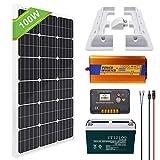 kit solar 220v completo monocristalino