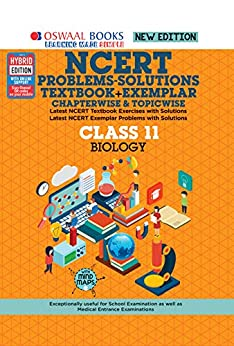 Oswaal NCERT Problems - Solutions (Textbook + Exemplar) Class 11 Biology Book (For 2021 Exam) by [Oswaal Editorial Board]