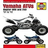By Anon Yamaha Raptor 660 & 700 ATVs 2001 - 2012: '01 to '12 (Haynes Service & Repair Manual) Hardcover - July 2012