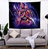 Jingrui Tapiz De Star Wars Negro Decoración para Colgar En La Pared Hogar Suave Gemelo Completo Tamaño Queen Iron Man Moda Sentido Tapiz Cómodo G