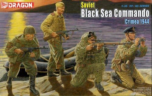 Dragon 500776457 – Soviet Black Sea Commamdo Russie Crimea 1944