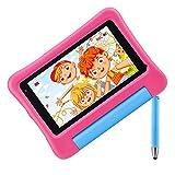vankyo S7 Tablet per Bambini da 7 Pollici 32GB Rom, Tablet Bambini con Android 9.0, WiFi, Fotocamera da 5MP + 2MP - Rosa