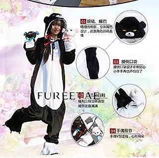くま クマ 熊 ベアー ユナ コスプレ衣装+リボン+髪飾り+靴+クマ 白い色変更可能 (ウィッグ 別売り)