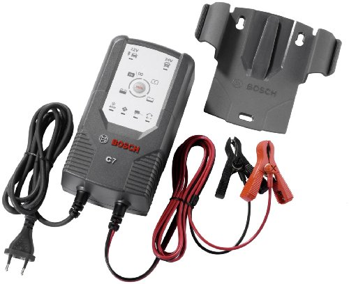 Bosch 0189999070 C7 - Cargador de batería con microprocesador (12 V -...