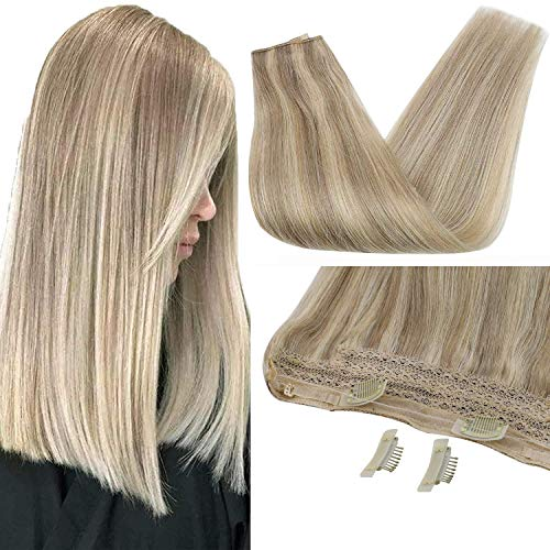 Sunny 12inch Hair Extensions Miracle Wire Human...