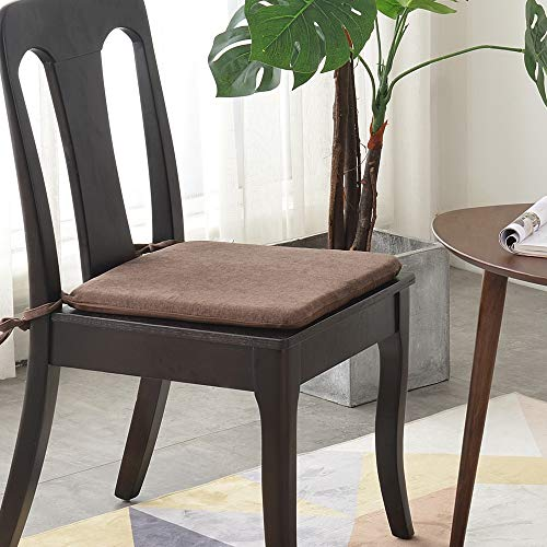 LUOLUO Chair Cushion Seat Dining Chair Seat Cushions Set Pads For Office/Dining/Kitchen Garden Chair 41CM