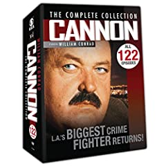 CANNON THE COMPLETE COLLECTION - Frank Cannon isn't your average, strikingly handsome TV private detective. He is LA's biggest crime fighter bringing the unjust to justice. COMPLETE SERIES - Complete boxed set includes all all 144 episodes of the cla...