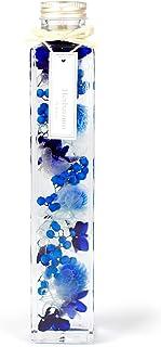 フェリナス 2021 母の日 フラワー ギフト 誕生日 結婚 贈り物 お礼 お祝い お返し 内祝い 花 プレゼント 女性 プリザーブドフラワー【 ハーバリウム ブルー 】kaku-blue