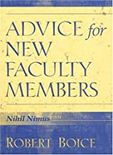 Best advice for new faculty members Reviews