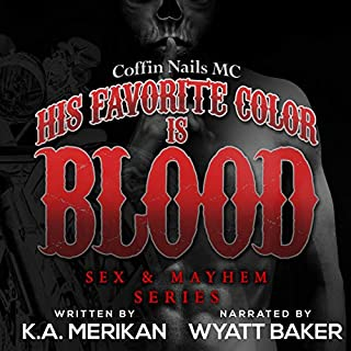 His Favorite Color Is Blood cover art