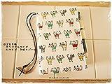 手帳カバーほぼ日手帳オリジナルサイズ対応A6手帳カバー ねこ 猫ネコ カラフルにゃんこ