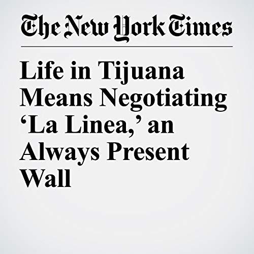 Life in Tijuana Means Negotiating 'La Linea,' an Always Present Wall audiobook cover art