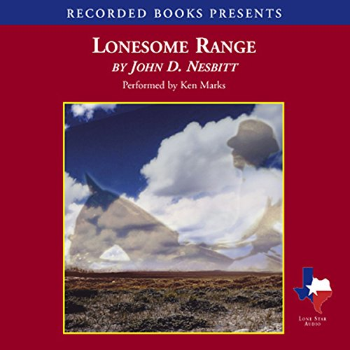 Lonesome Range audiobook cover art