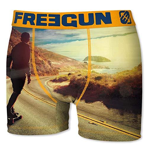 Freegun Boxershorts, Herren, Fotos Sportkollektion Gr. L, Longboard