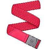 Arcade Belt Mens Futureweave Vapor Belts: 4 Way Stretch Webbing, Low Profile Buckle, Red