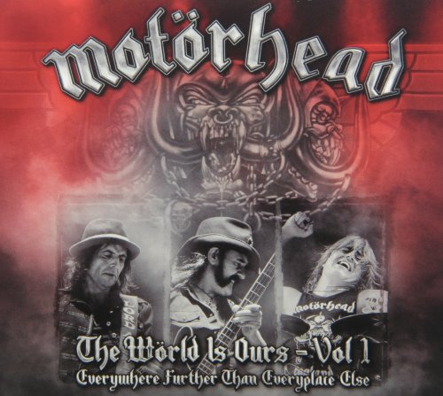 Motörhead - The Wörld is Ours Vol. 1: Everywhere Further Than Everyplace Else (+ 2 CDs) [3 DVDs]