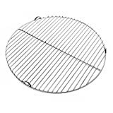 WilTec <span class='highlight'>Stainless</span> <span class='highlight'><span class='highlight'>steel</span></span> <span class='highlight'>Barbecue</span> grate round 44,5cm rust free for charcoal, gas, swing and others grills