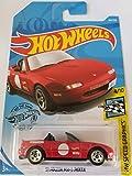 Hot Wheels 2019 Hw Speed Graphics '91 Mazda MX-5 Miata, 184/250 Red