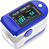 VRcast ® Make In India Pulse Oxygen Meter Fingertip VRC01 Blood Oxygen Saturation Monitor, SpO2 and Heart Rate Monitoring With OLED Display