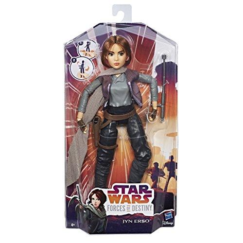 Hasbro Star Wars C1624ES0 - Die Mächte des Schicksals 11 Zoll Deluxe Action Puppe - Jyn Erso, Actionfigur