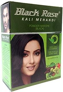 20 Sachets Black Rose Kali Mehandi Black Henna Herbal Hair 10 gms each (Total 200 gms) By Yash & Co