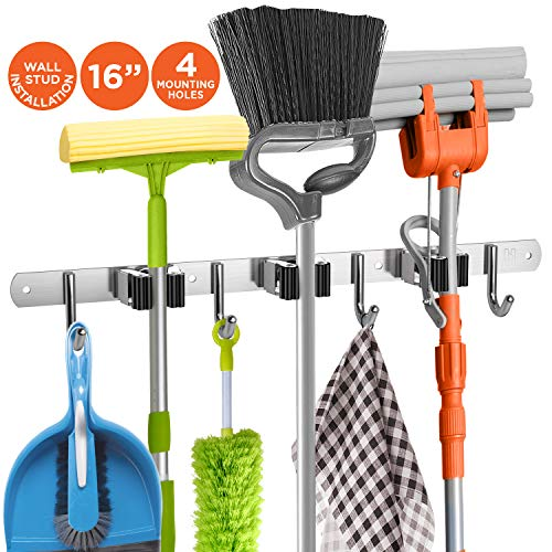 Product Image of the Homely Mop & Broom Holder