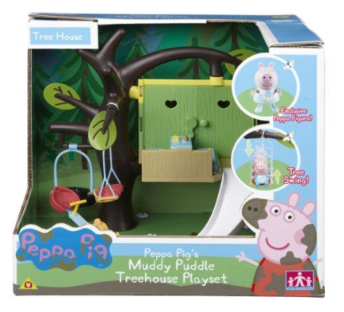 Peppa Pig Muddy Puddle Treehouse (Versand aus UK)