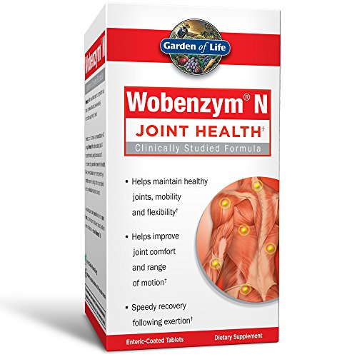 Wobenzym N Enteric Coated Tabs, 800-Count Bottle