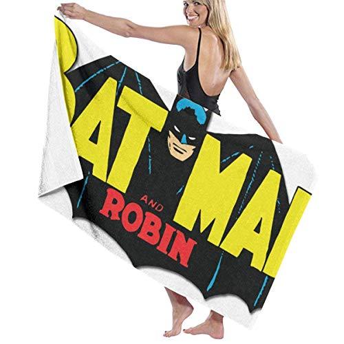 PageHar Bat-Man Toalla de Playa Juego de baño Toallas de baño Accesorios Toalla de Piscina