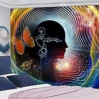 多機能壁掛けタペストリーシリーズ寮の装飾ヒッピー家族のリビングルームの寝室の背景の壁