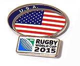 USA Coupe du Monde de Rugby 2015Badge à épingle