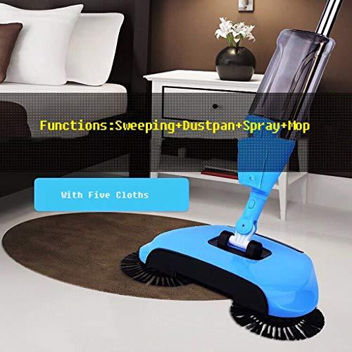 Spray Mop, Boden Spray Mops Reinigung Mops Reinigung Kehrmaschine Home Sweeper Automatische Mop Hand Push Cleaner,Blue