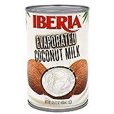 Iberia Coconut Milk, Evaporated, 13.5 Fl Oz (Pack of 12)