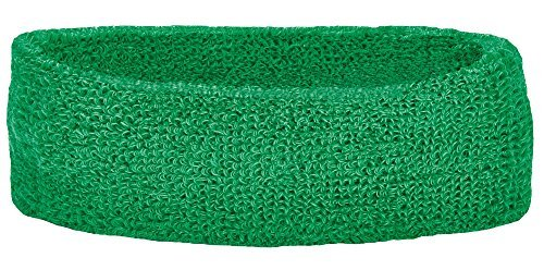 Unique Sports Thick Headband, One Size, Green