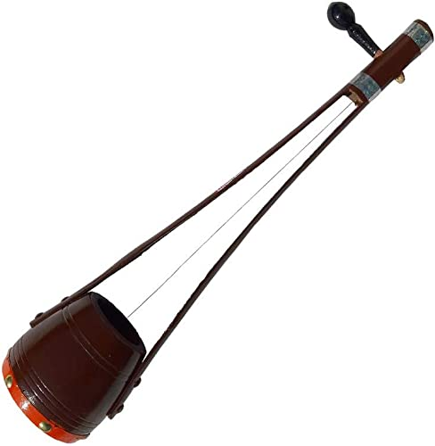GT Manufacturers Professional Ektaraa Wooden For Indian Folk And Classic Music 16 Inches Brown