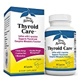 Terry Naturally Thyroid Care - Iodine + L-Tyrosine, 60 Capsules - Thyroid Support Supplement, Promotes Energy, Metabolism & Lustrous Hair - Non-GMO, Gluten-Free, Kosher - 30 Servings