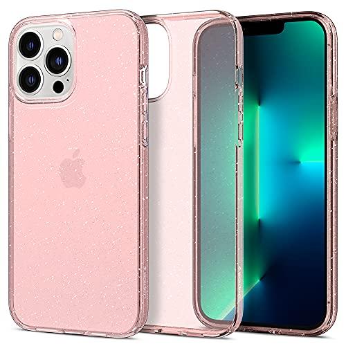 Spigen Liquid Crystal Glitter Designed for iPhone 13 Pro Case (2021) - Rose Quartz