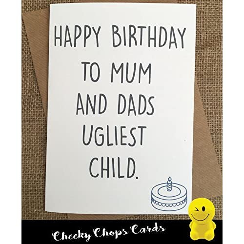 Funny Rude Cheeky Chops Cards