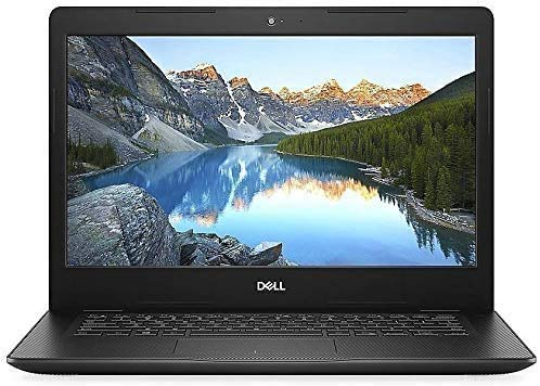 "Dell Inspiron 14 14"" Laptop Computer, Intel Pentium Gold 5405U 2.3GHz, 4GB DDR4 RAM, 128GB PCIe SSD, Bluetooth 4.1, HDMI, Black, Windows 10, Oline Class Ready, Webcam, Microphone, iPuzzle Mouse Pad"