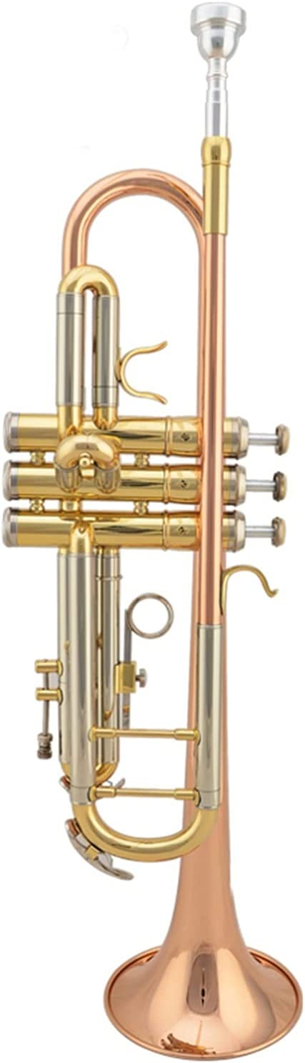 Trumpet New product Max 45% OFF Professional B Flat Gold Brass W Lacquer