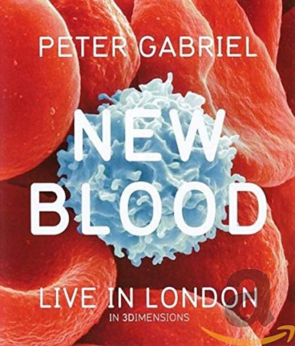 Peter Gabriel - New Blood / Live in London [3D Blu-ray]