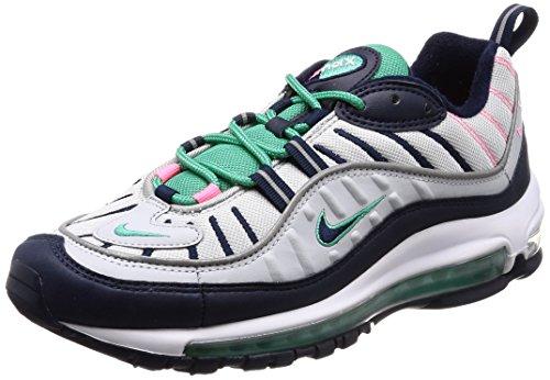 Nike Air Max 98 Pure Platinum South Beach Tidal Wave 640744-005 US Size 7