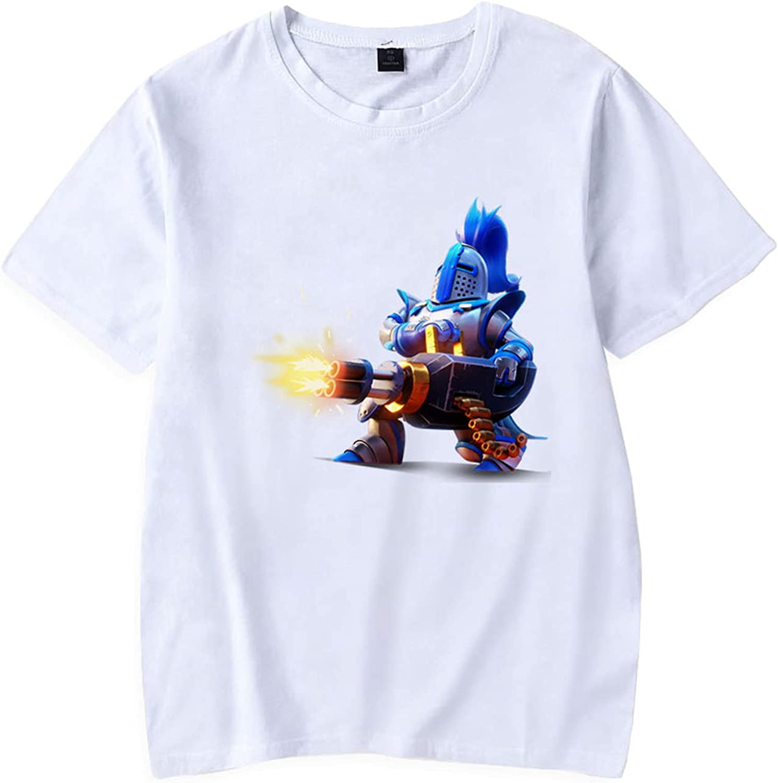 DJEFRSS Unisex Knight Squad 2 Tshirt Short Sleeve Top for Men/Women/Boys/Girls