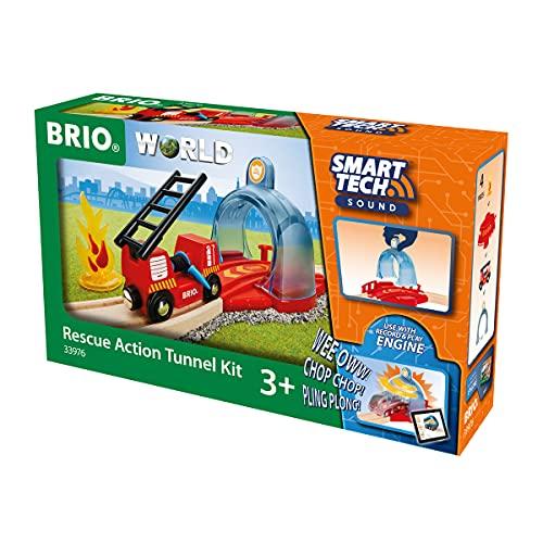 BRIO- Trenes, construcción, Multicolor (33976)