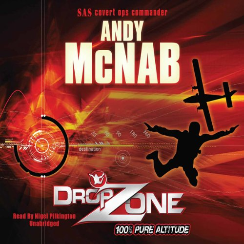 DropZone audiobook cover art