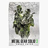 QUYNHHOZ Metal MGS The Solid Shinkawa 3 Boss Poster Gear Big Yoji The Most Impressive and Stylish Indoor Decoration Poster Available Trending Now