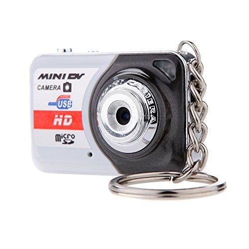 Andoer Ultra Mini Kamera X 6 tragbare HD hohe Denifition-Digital Kamera Mini DV 32 GB TF-Karte mit Mic
