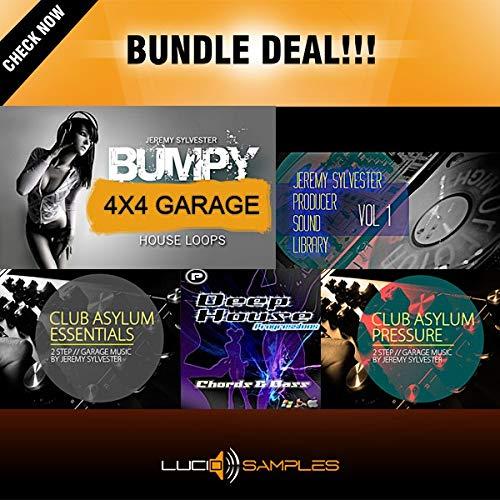 UKG Bundle 5 in 1 - Samples for UK Garage & Deep House Music Production | DVD non BOX