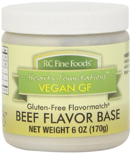 RC Fine Foods Healthy Foundations Vegan Gluten-Free Base, Beef, 6 Ounce