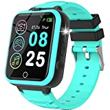 Kids Smart Watch with Games -Kids Smartwatch for Boys Gilrs with 20 Games Dual Camera Music Player Flashlight Video Touch Screen Children Toys Gifts Smart Watch for Kids Age 4-12 Years Old (Green)